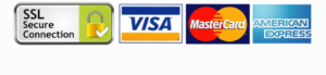 ssl visa mastercard and amex